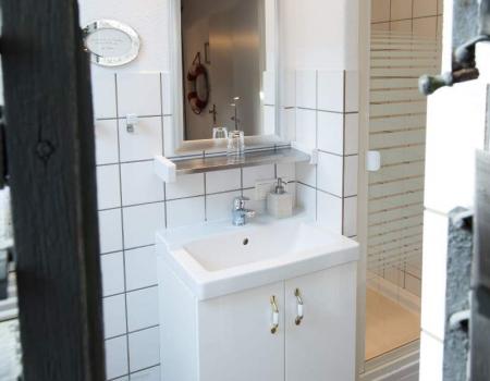 Das Bad in Zimmer 18